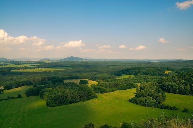 panorama příroda