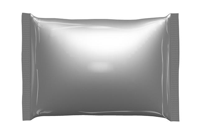 plastový balíček