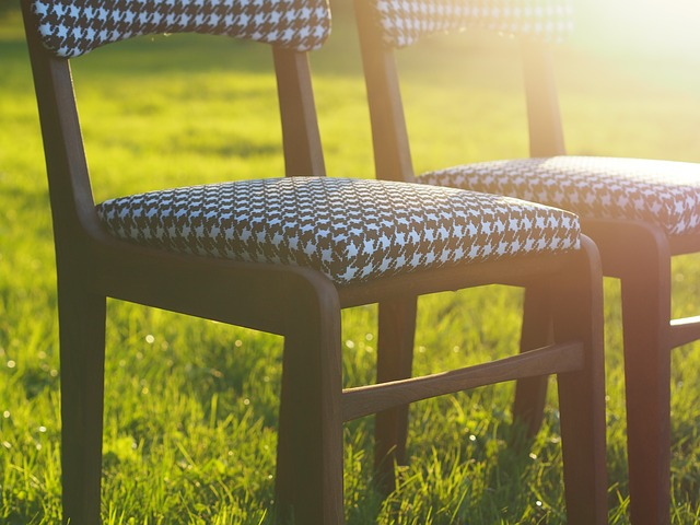 potažené židle