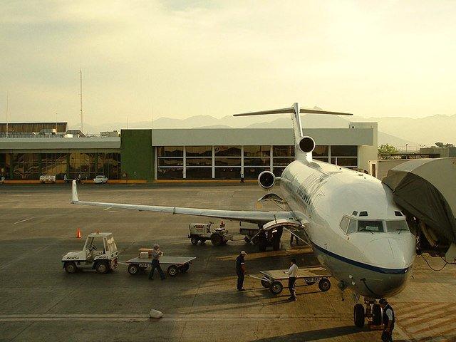 přistavené letadlo