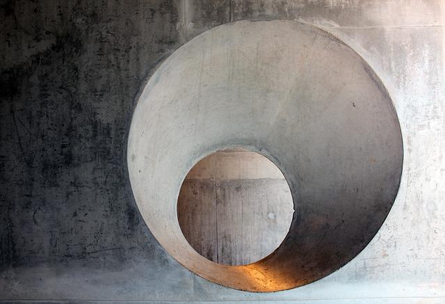 světlo betonu