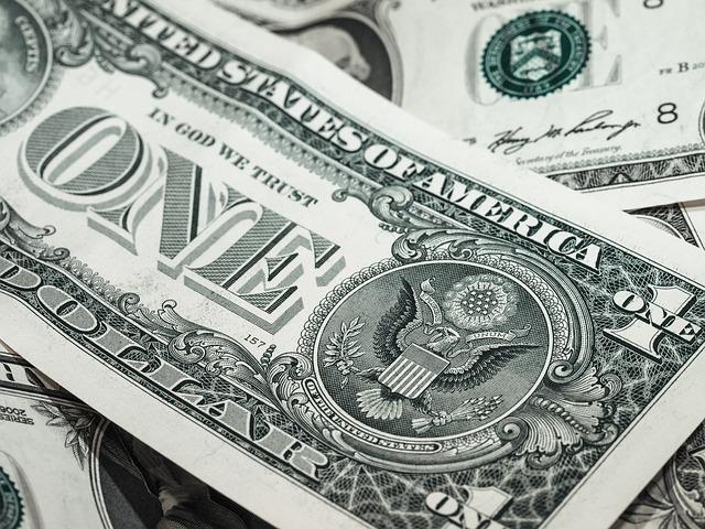 dolarová bankovka