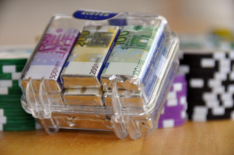eura v sáčku