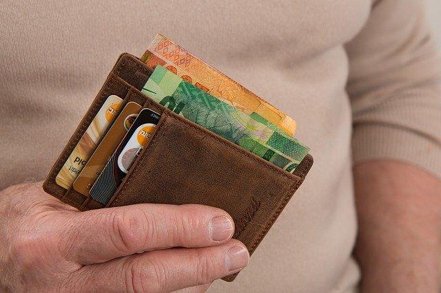 peněženka s randy